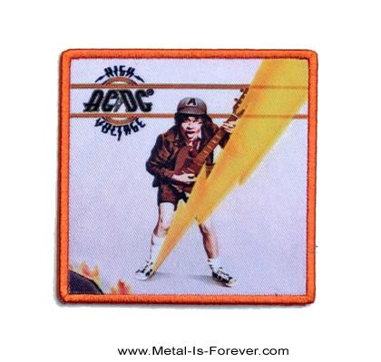 AC/DC (エーシー・ディーシー) HIGH VOLTAGE 「ハイ・ヴォルテージ」 アイロン・ワッペン