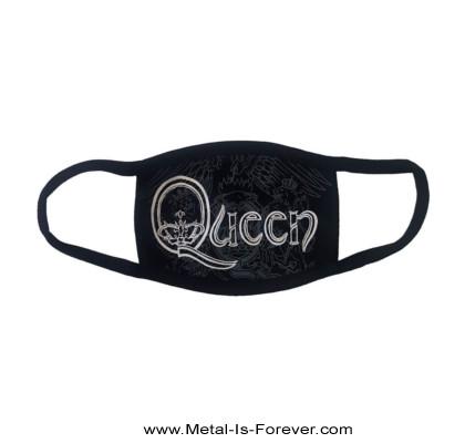 QUEEN (クイーン) WHITE RETRO LOGO 「ホワイト・レトロ・ロゴ」 マスク