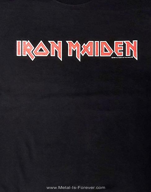 IRON MAIDEN (アイアン・メイデン) LOGO 「ロゴ」 キッズTシャツ