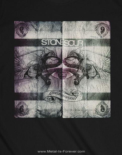 STONE SOUR (ストーン・サワー) AUDIO SECRECY 「オーディオ・シークレシー」 トラックリスト Tシャツ