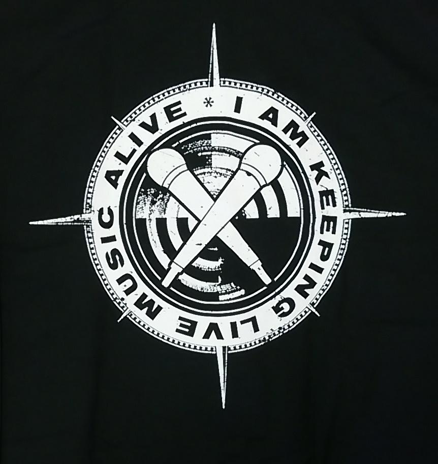 【在庫有り商品】SONATA ARCTICA -ソナタ・アークティカ- LIVE MUSIC  「ライヴ・ミュージック」 ジップパーカー Lサイズ