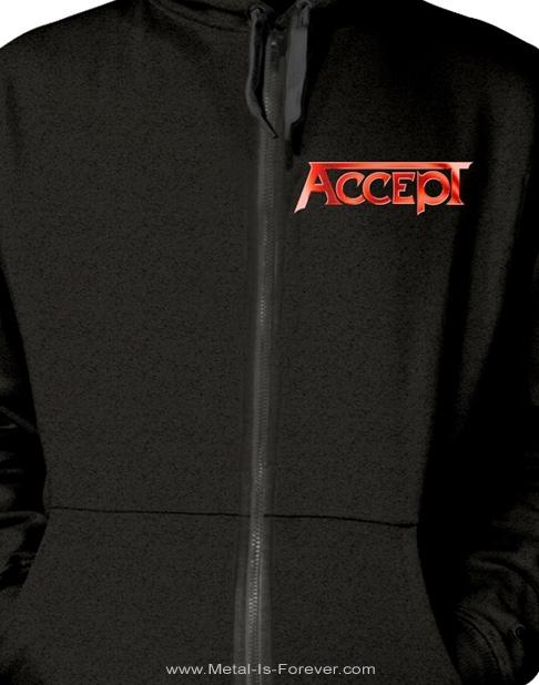 ACCEPT -アクセプト- RESTLESS AND WILD 「レストレス・アンド・ワイルド」 ジップ・パーカー