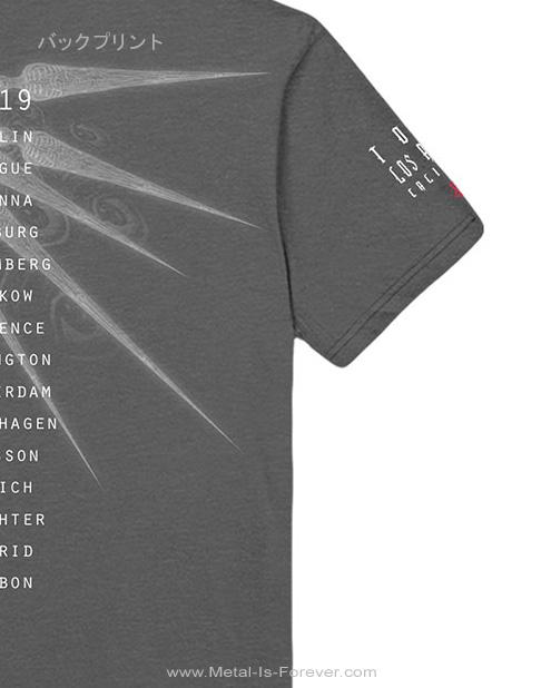 TOOL -トゥール- SPECTRE SPIKE 「スペクター・スパイク」 Tシャツ(チャコール・グレー)