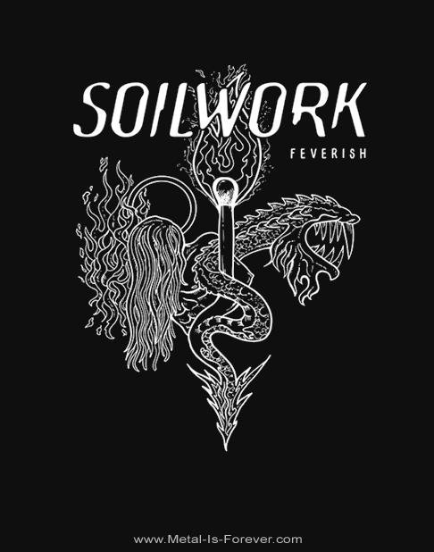 SOILWORK (ソイルワーク) FEVERISH 「フィーヴァリッシュ」 Tシャツ