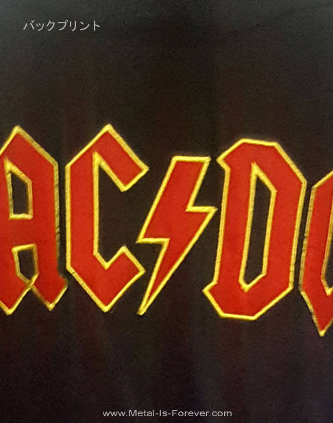 AC/DC (エーシー・ディーシー) LOGO 「ロゴ」 バスローブ