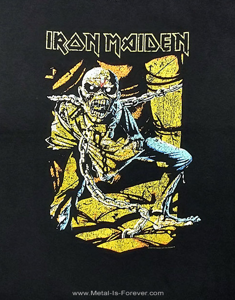 IRON MAIDEN (アイアン・メイデン) PIECE OF MIND 「頭脳改革」 キッズTシャツ