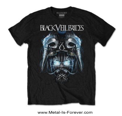 BLACK VEIL BRIDES (ブラック・ヴェイル・ブライズ) METAL MASK 「メタル・マスク」 Tシャツ