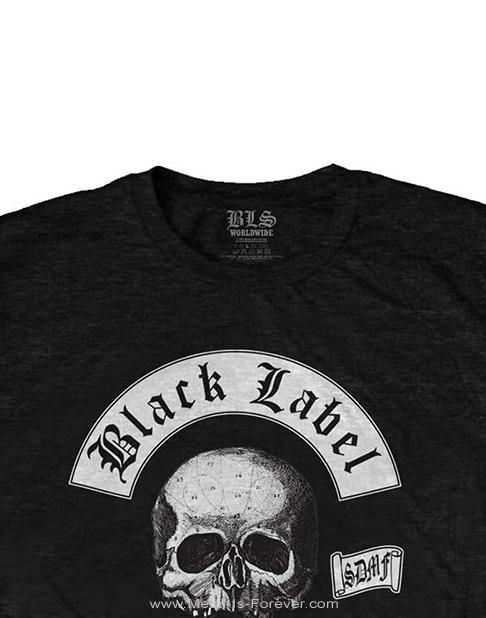 BLACK LABEL SOCIETY (ブラック・レーベル・ソサイアティ) SKULL LOGO 「スカル・ロゴ」 Tシャツ