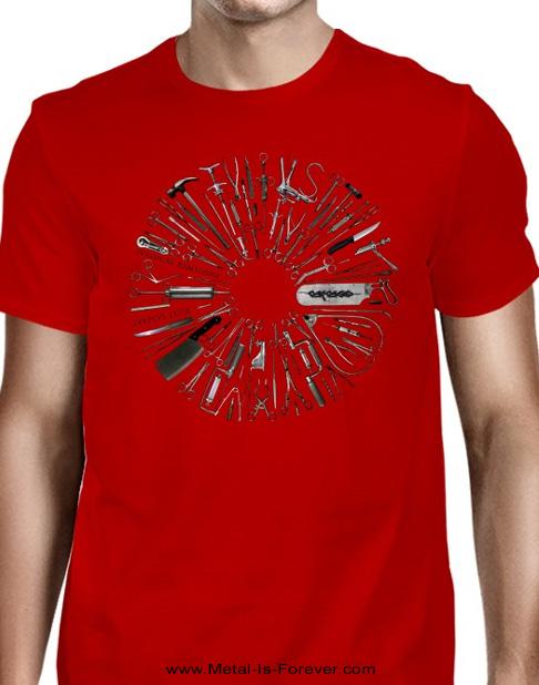 CARCASS -カーカス- SURGICAL REMISSION 「サージカル・リミッション」 Tシャツ(赤)