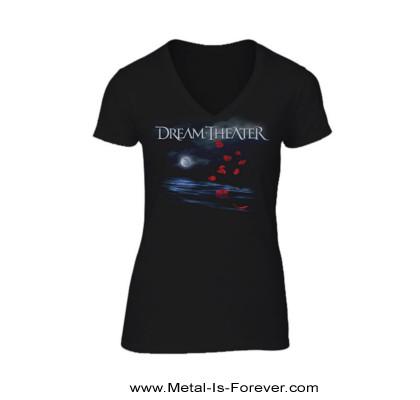 DREAM THEATER -ドリーム・シアター- ROSE PETALS MOON 「ローズ・ペタル・ムーン」 レディース Tシャツ