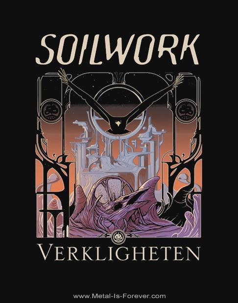 SOILWORK (ソイルワーク) VERKLIGHETEN 「現実/ヴァルケヒエッテン」 Tシャツ