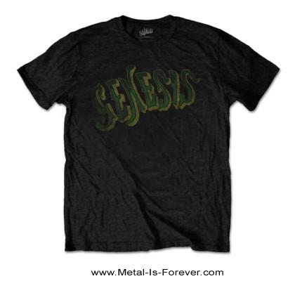 GENESIS (ジェネシス) GREEN LOGO 「グリーン・ロゴ」 Tシャツ