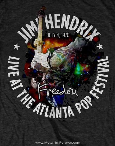 JIMI HENDRIX (ジミ・ヘンドリックス) ATLANTA POP FESTIVAL 1970 「アトランタ・ポップ・フェスティバル・1970」 Tシャツ