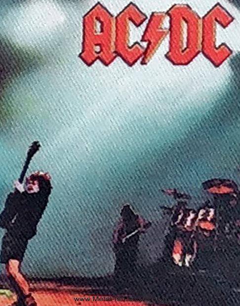 AC/DC (エーシー・ディーシー) LET THERE BE ROCK 「ロック魂」 アイロン・ワッペン