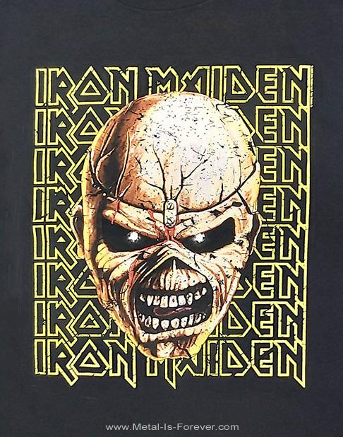 IRON MAIDEN (アイアン・メイデン) THE TROOPER 「明日なき戦い」ビッグ・ヘッド キッズTシャツ