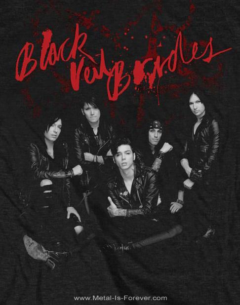 BLACK VEIL BRIDES (ブラック・ヴェイル・ブライズ) WOUNDED 「ワウンデッド」 Tシャツ
