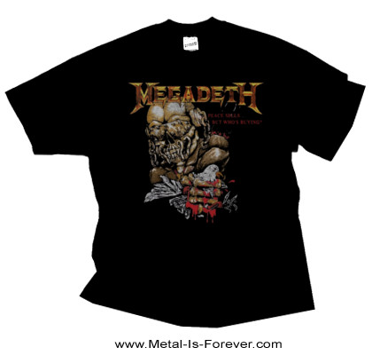 MEGADETH -メガデス- PEACE SELLS ...BUT WHO'S BUYING? 「ピース・セルズ...バット・フーズ・バイイング?」 Tシャツ Ver.2