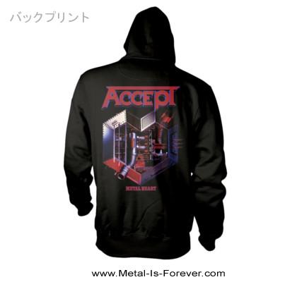 ACCEPT -アクセプト- METAL HEART 「メタル・ハート」 ジップ・パーカー
