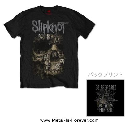 SLIPKNOT -スリップノット- SKULL GROUP 「スカル・グループ」 Tシャツ