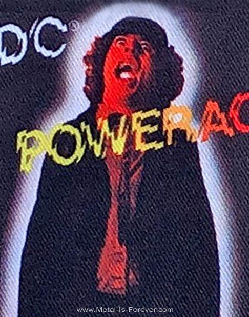 AC/DC (エーシー・ディーシー) POWERAGE 「パワーエイジ」 アイロン・ワッペン