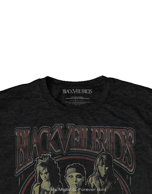 BLACK VEIL BRIDES (ブラック・ヴェイル・ブライズ) VINTAGE 「ヴィンテージ」 Tシャツ
