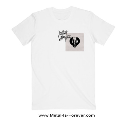 BULLET FOR MY VALENTINE (ブレット・フォー・マイ・ヴァレンタイン) BULLET FOR MY VALENTINE 「ブレット・フォー・マイ・ヴァレンタイン」 Tシャツ(白)