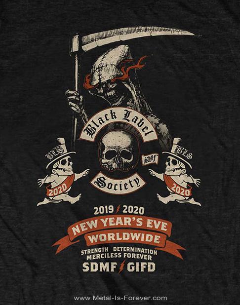 BLACK LABEL SOCIETY (ブラック・レーベル・ソサイアティ) NEW YEARS EVE 「ニュー・イヤーズ・イヴ」 Tシャツ