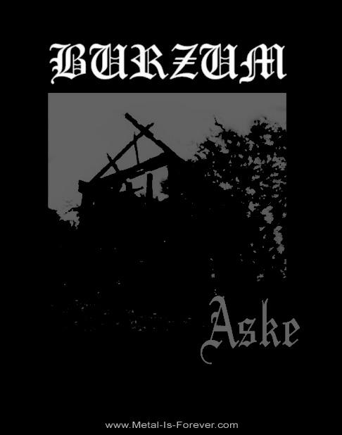 BURZUM -バーズム- ASKE 「アスク」 Tシャツ
