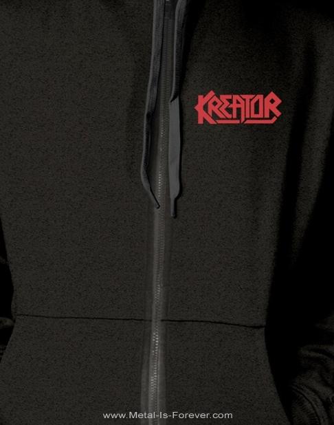 KREATOR -クリーター- PLEASURE TO KILL 「プレジャー・トゥ・キル」 ジップ・パーカー