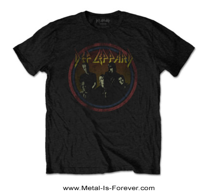 DEF LEPPARD -デフ・レパード- VINTAGE CIRCLE 「ヴィンテージ・サークル」 Tシャツ