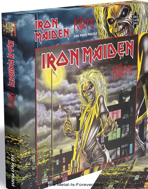 IRON MAIDEN -アイアン・メイデン- KILLERS 「キラーズ」 500ピース ジグソーパズル