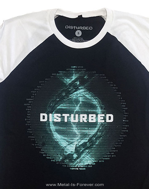 DISTURBED (ディスターブド) EVOLUTION 「エヴォユーション」 ラグラン七分袖Tシャツ