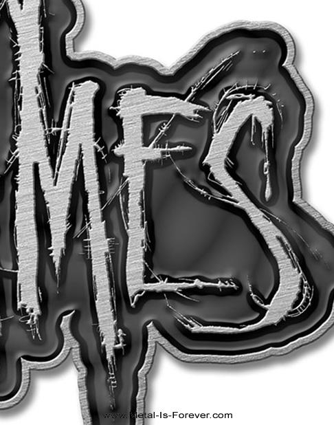 IN FLAMES (イン・フレイムス) LOGO 「ロゴ」 ピン・バッジ