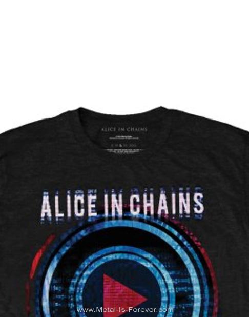 ALICE IN CHAINS (アリス・イン・チェインズ) PLAYED 「プレイド」 Tシャツ
