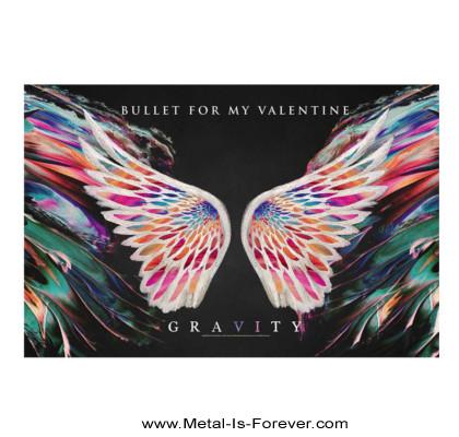 BULLET FOR MY VALENTINE (ブレット・フォー・マイ・ヴァレンタイン) GRAVITY 「グラヴィティ」 布製ポスター