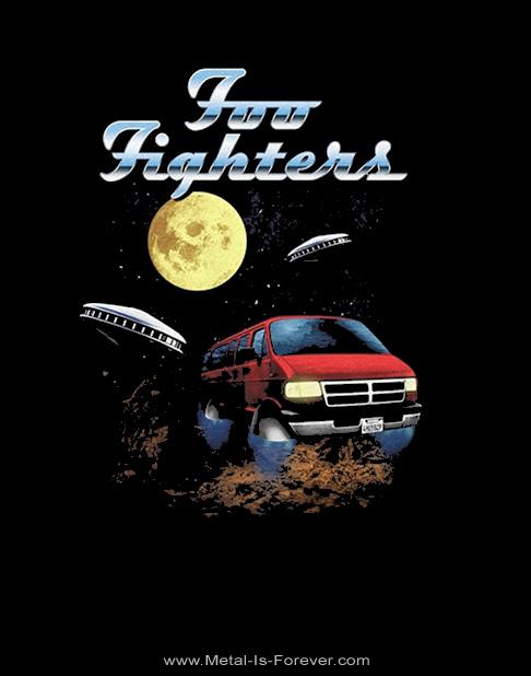 FOO FIGHTERS (フー・ファイターズ) VAN TOUR 「バン・ツアー」 Tシャツ