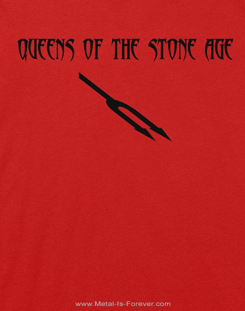 QUEENS OF THE STONE AGE (クイーンズ・オブ・ザ・ストーン・エイジ) SONGS FOR THE DEAF 「ソングス・フォー・ザ・デフ」 Tシャツ(赤)