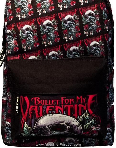 BULLET FOR MY VALENTINE (ブレット・フォー・マイ・ヴァレンタイン) SKULL RED EYES 「スカル・レッド・アイズ」 リュックサック