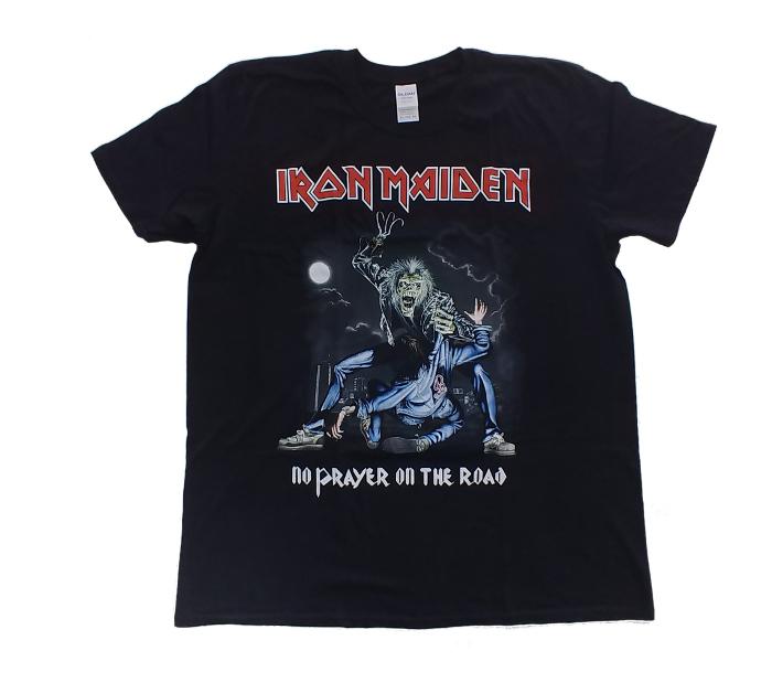 【在庫有り商品】IRON MAIDEN -アイアン・メイデン- NO PRAYER ON THE ROAD 「ノー・プレイヤー・オン・ザ・ロード」 Tシャツ XLサイズ