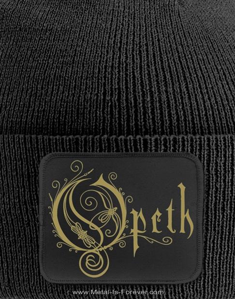 OPETH -オーペス- LOGO 「ロゴ」 ニットキャップ