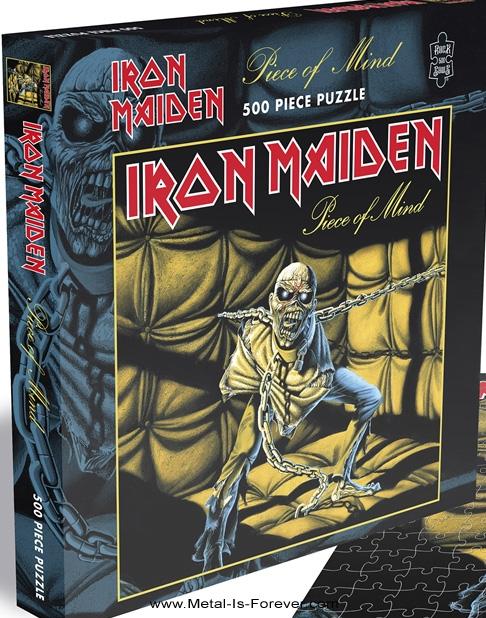 IRON MAIDEN -アイアン・メイデン- PIECE OF MIND 「頭脳改革」 500ピース ジグソーパズル