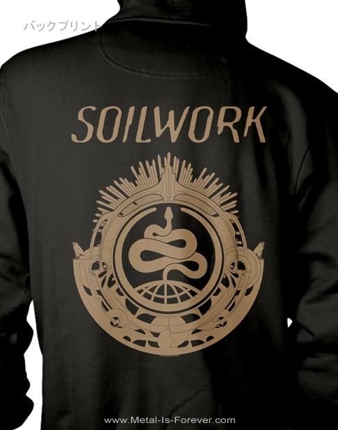 SOILWORK (ソイルワーク) SNAKE 「スネーク」 パーカー