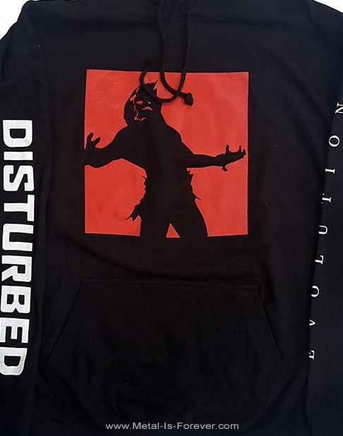DISTURBED (ディスターブド) EVOLUTION 「エヴォユーション」 パーカー