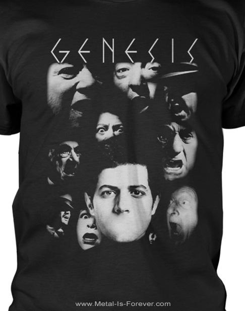 GENESIS (ジェネシス) THE LAMB LIES DOWN ON BROADWAY 「眩惑のブロードウェイ」 フェイス Tシャツ