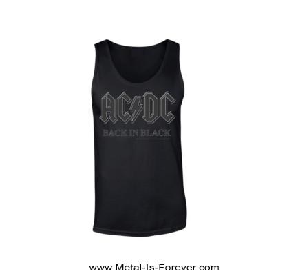 AC/DC (エーシー・ディーシー) BACK IN BLACK 「バック・イン・ブラック」 タンクトップ