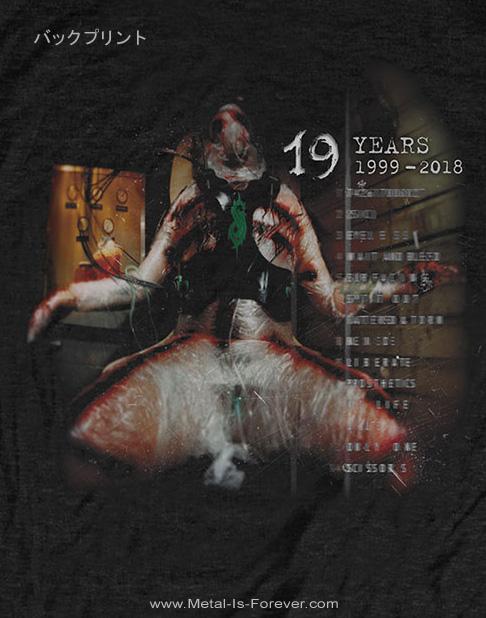 SLIPKNOT (スリップノット) SLIPKNOT 19 YEARS 「スリップノット・19周年」 キッズTシャツ