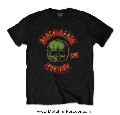 BLACK LABEL SOCIETY (ブラック・レーベル・ソサイアティ) GREEN SKULL LOGO 「グリーン・スカル・ロゴ」 Tシャツ