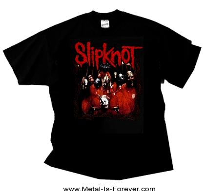 SLIPKNOT (スリップノット) SLIPKNOT 「猟奇趣味的激烈」 フレーム Tシャツ