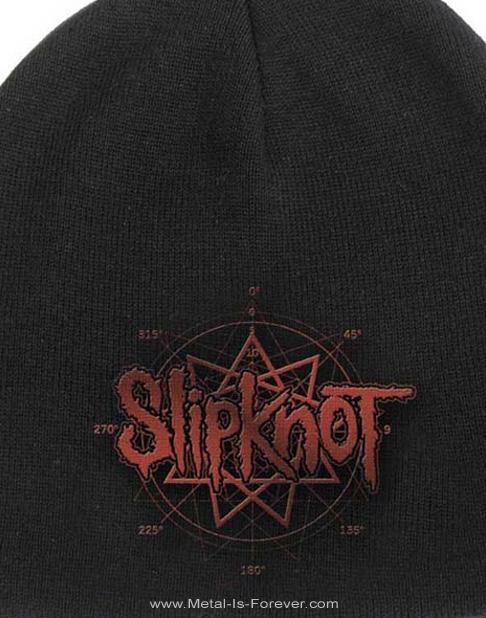 SLIPKNOT -スリップノット- LOGO 「ロゴ」 ニットキャップ