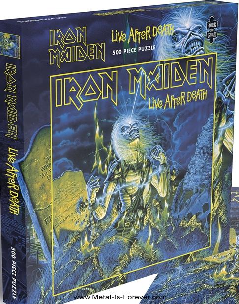 IRON MAIDEN -アイアン・メイデン- LIVE AFTER DEATH 「死霊復活」 500ピース ジグソーパズル